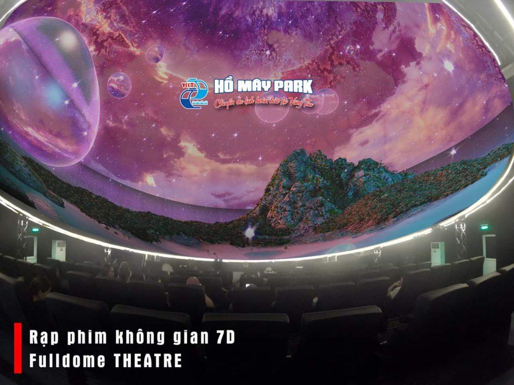 rạp chiếu 7D FullDome - Hồ Mây Park