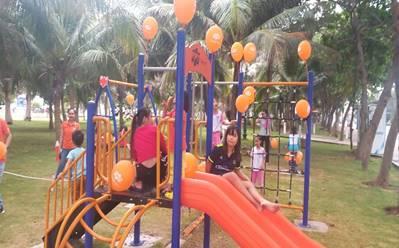 Du lịch Vũng Tàu - Khánh thành khu vui chơi trẻ em