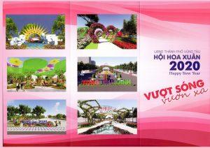 Du lịch Vũng Tàu - Hội hoa xuân  Vũng Tàu 2020