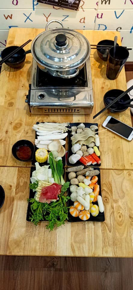 Topping Buffet lẩu 79k