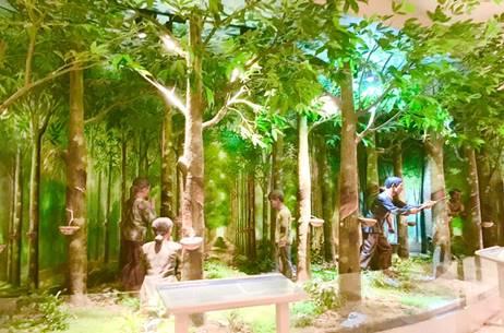 Bảo tàng tỉnh Bà Rịa - Vũng Tàu - công nhân đồn điền cao su