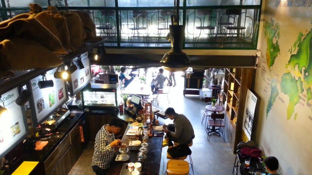 Quầy bar - Mountain Pearl Coffee