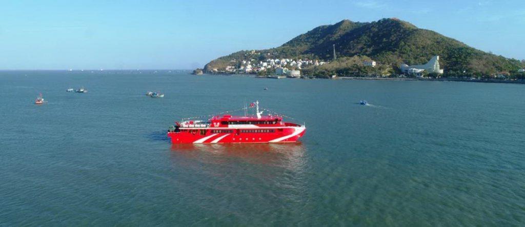Tàu cao tốc Côn Đảo Express 36