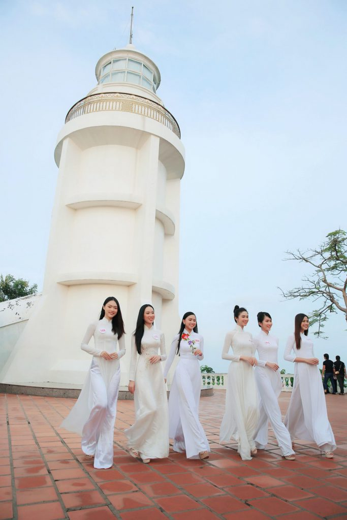 Hoa hậu VN 2020 Hải đăng Vũng Tàu