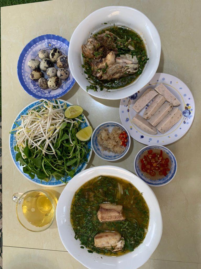 Bánh canh cá lóc O Lan -Vũng Tàu