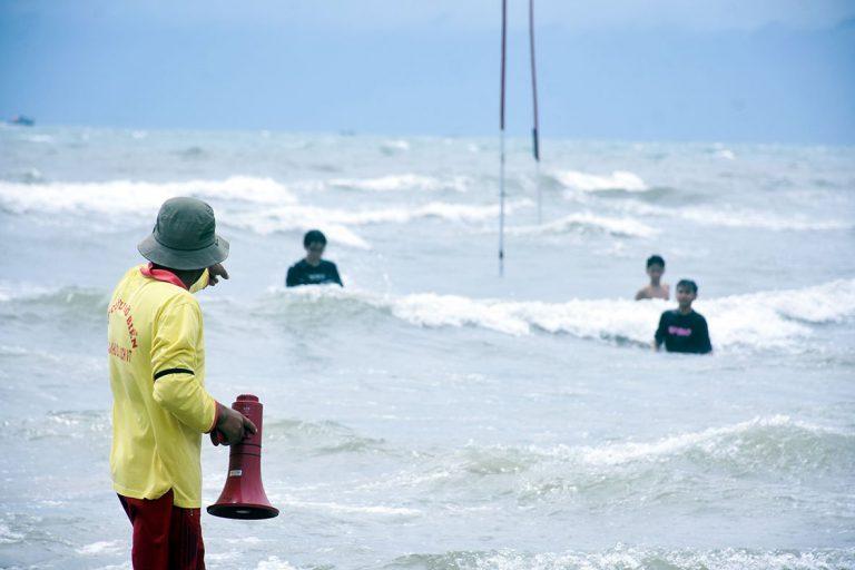 khu vực biển có ao xoáy